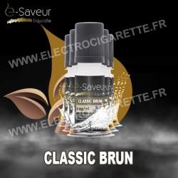 Pack 5x10 ml - Classic Brun - e-Saveur
