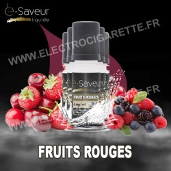 Pack 5x10 ml - Fruits Rouges - e-Saveur