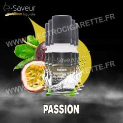 Pack 5x10 ml - Passion - e-Saveur