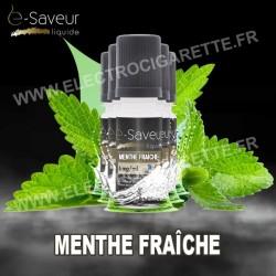 Pack 5x10 ml - Menthe Fraîche - e-Saveur