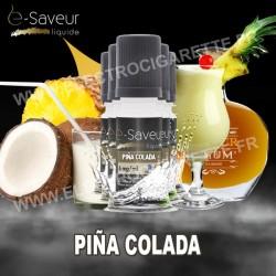 Pack 5x10 ml - Pina Colada - e-Saveur
