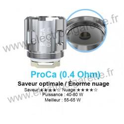 5 x Résistances ProCore Air Plus - ProCA 0.4 Ohm - Joyetech