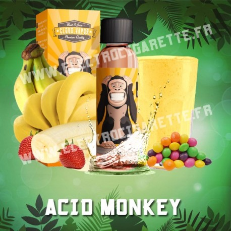 Acid Monkey - Cloud Vapor Animals - ZHC 60 ml