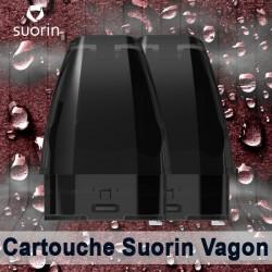 Pack de 2 cartouches 2 ml Vagon - Suorin