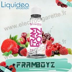 Framboyz - Liquideo Evolution - ZHC 60 ml