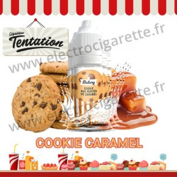 5 x 10 ml Cookie Caramel - Bakery Tentation - Liquideo