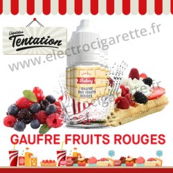 5 x 10 ml Gaufre aux fruits rouges - Bakery Tentation - Liquideo