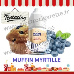 5 x 10 ml Muffin aux myrtilles - Bakery Tentation - Liquideo