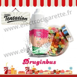 5 x 10 ml Druginbus - Candy Tentation - Liquideo