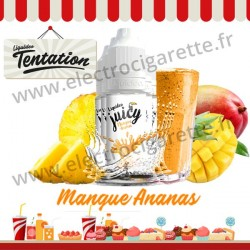 5 x 10 ml Mangue Ananas - Candy Tentation - Liquideo
