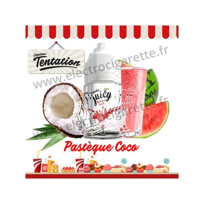 5 x 10 ml Pastèque Coco - Juicy Tentation - Liquideo