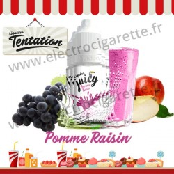 5 x 10 ml Pomme Raisin - Juicy Tentation - Liquideo