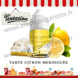 5 x 10 ml Tarte Citron Meringuée - Patisserie Tentation - Liquideo
