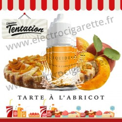 5 x 10 ml Tarte à l'abricot - Patisserie Tentation - Liquideo