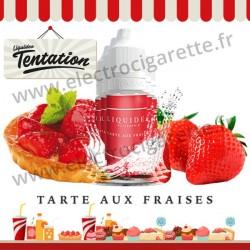 5 x 10 ml Tarte aux Fraises - Patisserie Tentation - Liquideo