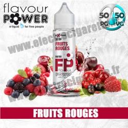 E-liquide Fruits Rouges - Flavour Power - ZHC 50 ml