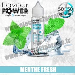 E-liquide Menthe Fraîche - Flavour Power - ZHC 50 ml