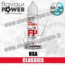 E-liquide USA Classics - Flavour Power - ZHC 50 ml