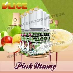 Pack 5 flacons 10 ml Pink Mamy - D'Lice