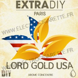 Lord Gold USA - ExtraDiY - 10 ml - Arôme concentré