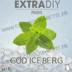 God Iceberg - ExtraDiY - 10 ml - Arôme concentré