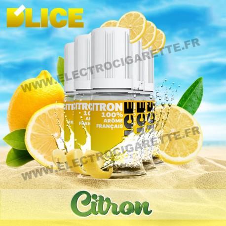 Pack 5 flacons 10 ml Citron - D'Lice