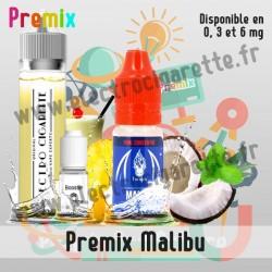 Premix e-liquide Malibu Halo 60 ml