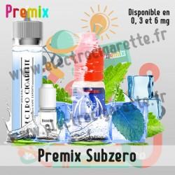 Premix e-liquide Subzero Halo 60 ml