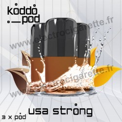 USA Strong - 3 x Pods Nano - KoddoPod Nano - Nouvelle cartouche