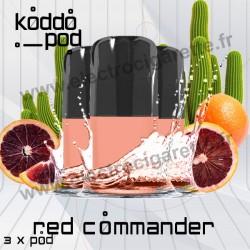 Red Commander - 3 x Pods Nano - KoddoPod Nano - Nouveaux Pods