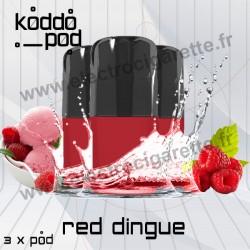 Red Dingue - 3 x Pods Nano - KoddoPod Nano - Nouveaux Pods