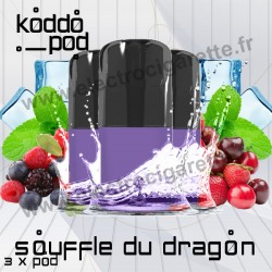 Souffle Du Dragon - 3 x Pods Nano - KoddoPod Nano - Nouveaux Pods