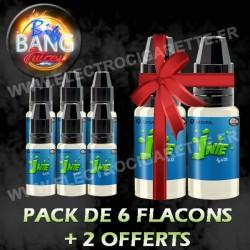 Pack 6 flacons + 2 offerts - Big Bang Juices - 10 ml