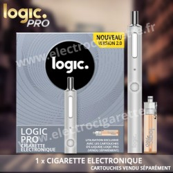 Cigarette electronique Logic Pro - White Edition Soft Touch