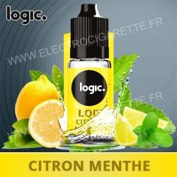 Citron Menthe - LQD - Logic Pro - 10 ml