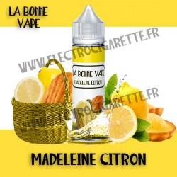 Madeleine Citron - La Bonne Vape - ZHC - 60 ml
