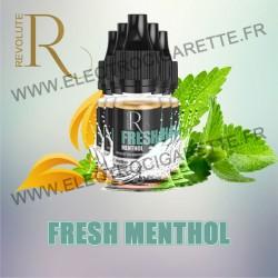Pack de 5 flacons Fresh Menthol - Primo de REVOLUTE