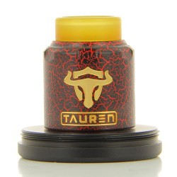 Dripper Tauren RDA - Red Cracked - Thunderhead