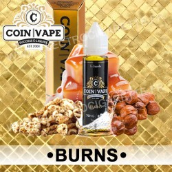 Burns - Coin Vape - ZHC 50 ml - Savourea