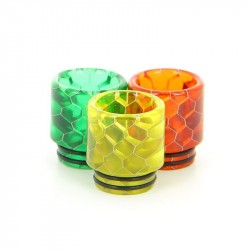 Drip Tip 810 - Snake Pattern Full Resin - TFV8 - TFV12