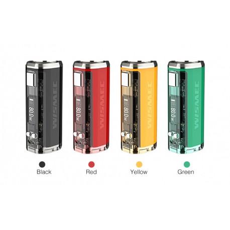 Mod SINUOUS V80 - Wismec - Plusieurs couleurs