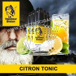 Pack de 5 x Citron Tonic - L'Authentic - Le Vapoteur Breton - 10 ml