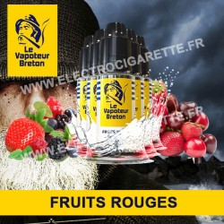Pack de 5 x Fruits Rouges - L'Authentic - Le Vapoteur Breton - 10 ml