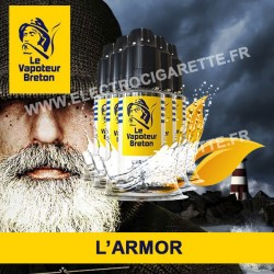 Pack de 5 x L'Armor - L'Authentic - Le Vapoteur Breton - 10 ml