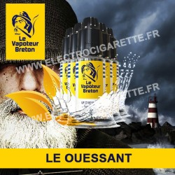 Pack de 5 x Le Ouessant - L'Authentic - Le Vapoteur Breton - 10 ml