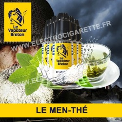 Pack de 5 x Le Men-Thé - L'Authentic - Le Vapoteur Breton - 10 ml
