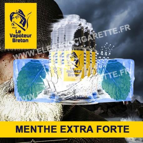 Pack de 5 x Menthe Extra-Forte - L'Authentic - Le Vapoteur Breton - 10 ml