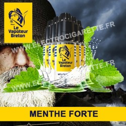 Pack de 5 x Menthe Forte - L'Authentic - Le Vapoteur Breton - 10 ml