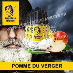 Pack de 5 x Pomme du verger - L'Authentic - Le Vapoteur Breton - 10 ml