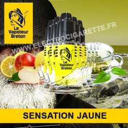 Pack de 5 x Jaune - Sensation - Le Vapoteur Breton - 10 ml